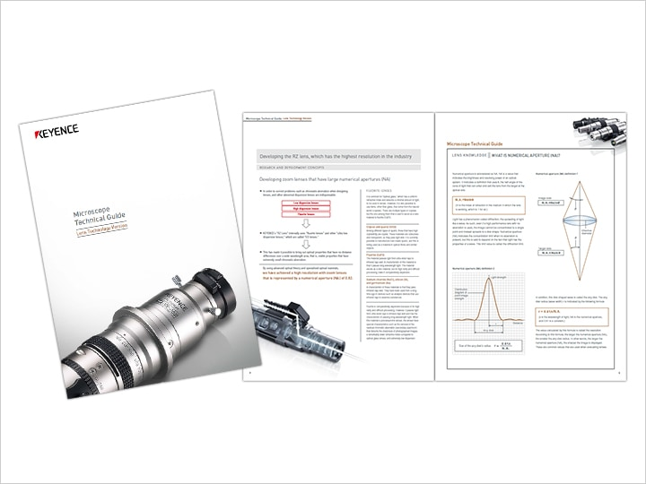 Technical Guide for Microscope [Lens Technique] (English)