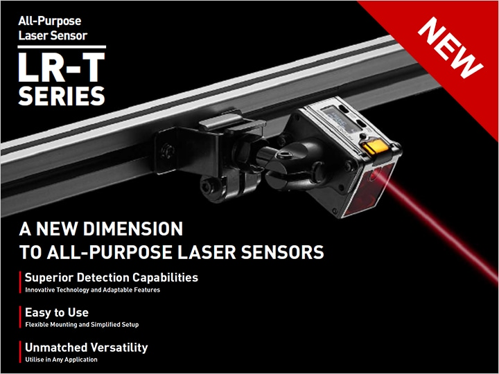 LR-T Series Self-contained TOF Laser Sensor Catalogue (English)