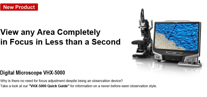 Digital Microscope VHX-5000