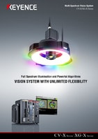 CV-X/XG-X Series Vision System Multi-Spectrum Vision System Catalogue