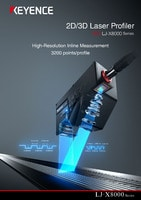 LJ-X8000 Series 2D/3D Laser Profiler Catalogue