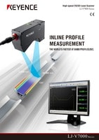 LJ-V Series Ultra-High Speed In-line Profilometer Catalogue