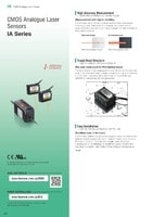 IA Series CMOS Analogue Laser Sensor Catalogue