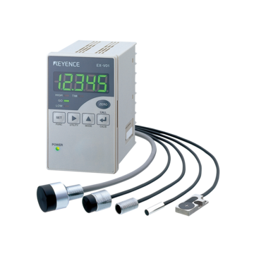 EX-V series - High-speed, High-Accuracy, digital inductive displacement sensors